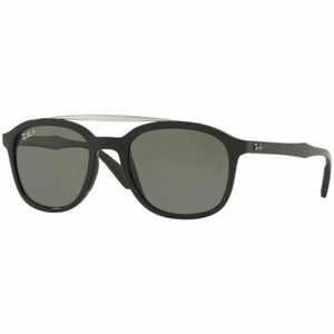 Ray-Ban Square Sunglasses W/Grey Polarized Lens